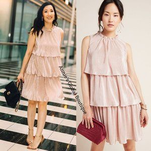 RARE NWT ANTHROPOLOGIE Estelle Tiered Dress